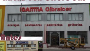 Gribralcer Renovacion Fachada Local Comercial en Algeciras CAGICONS